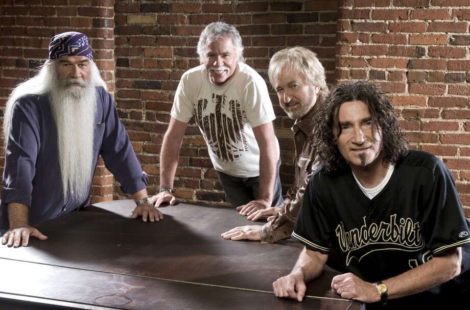 The Oak Ridge Boys include (from left) William Lee Golden, Joe Bonsall, Duane Allen and Richard Sterban. COURTESY PHOTO. / ©jarrettgaza