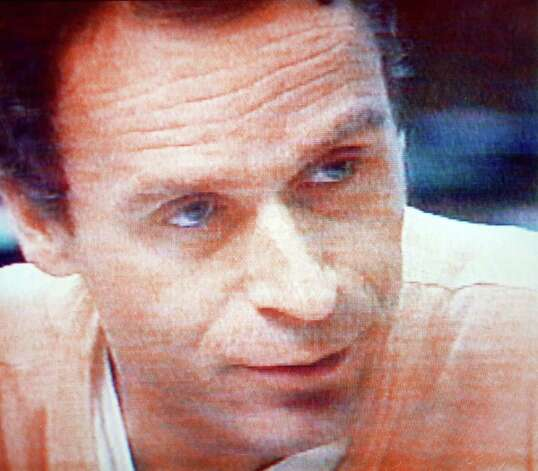 Ted Bundy being interviewed on television. (seattlepi.com file) Photo: KING TV