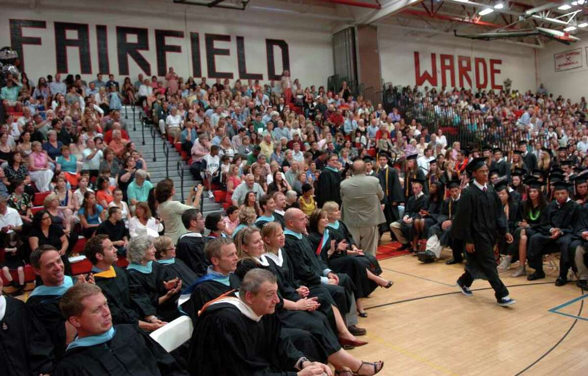 Highlights from Fairfield Warde High School's 7th Annual Commencement Exercises in Fairfield, Conn. on Wednesday June 23, 2011.