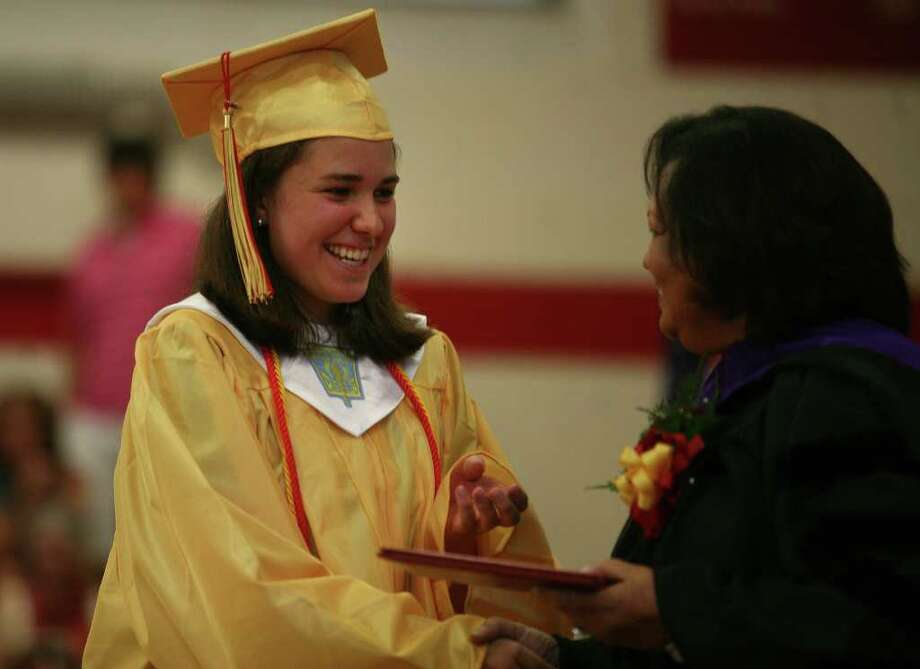 Stratford High School graduation on Thursday, June 23, 2011. Alyssa Brelsford. Photo: Brian A. Pounds / Connecticut Post