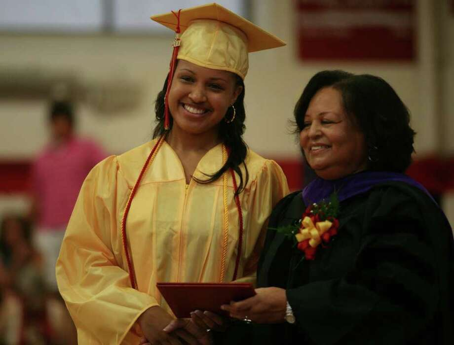 Stratford High School graduation on Thursday, June 23, 2011. Dominyque Jackson. Photo: Brian A. Pounds / Connecticut Post