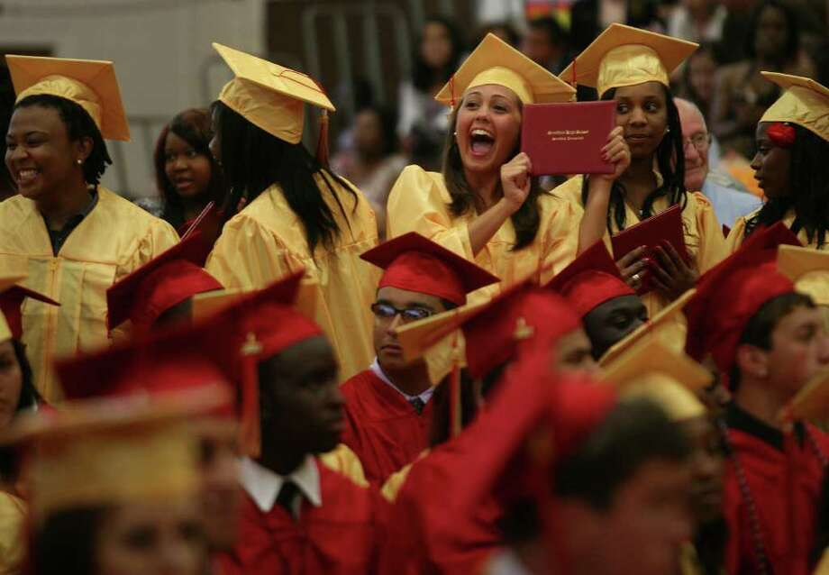 Stratford High School graduation on Thursday, June 23, 2011. Photo: Brian A. Pounds / Connecticut Post