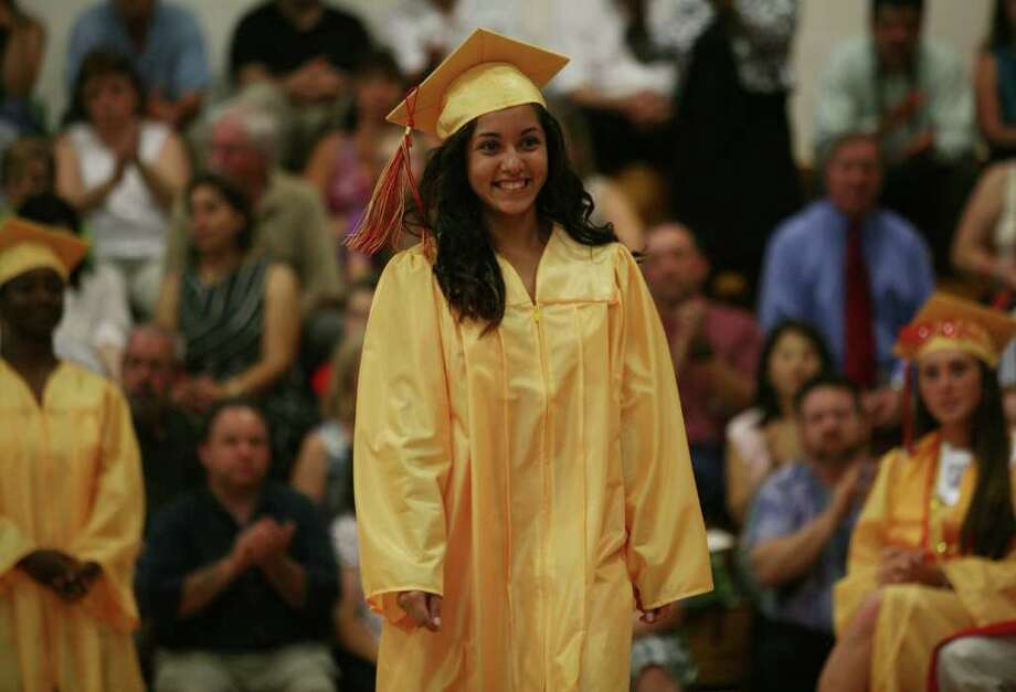 Stratford High School graduation on Thursday, June 23, 2011. Valentina Troncoso. Photo: Brian A. Pounds / Connecticut Post