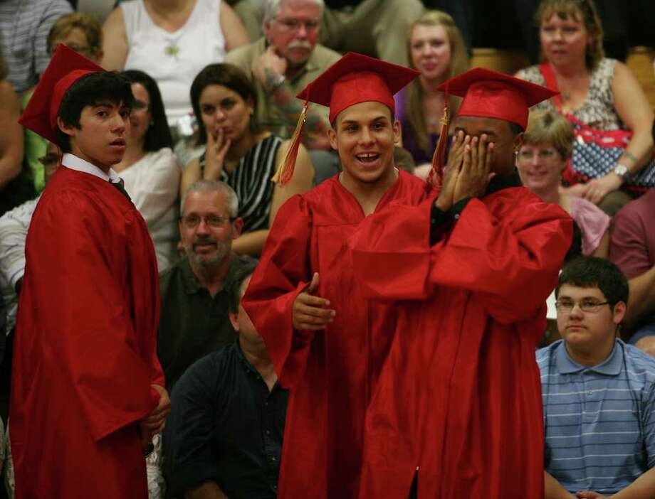Stratford High School graduation on Thursday, June 23, 2011. Kevin Murat. Photo: Brian A. Pounds / Connecticut Post