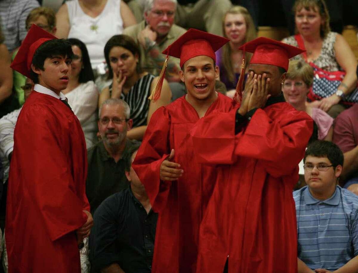 Stratford High School graduation on Thursday, June 23, 2011. Kevin Murat.