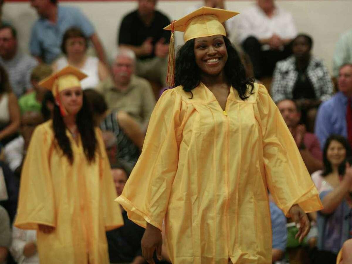 Stratford High School graduation on Thursday, June 23, 2011.