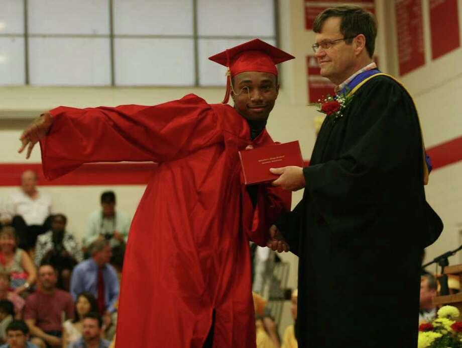 Stratford High School graduation on Thursday, June 23, 2011. Photo: Brian A. Pounds / Connecticut Post