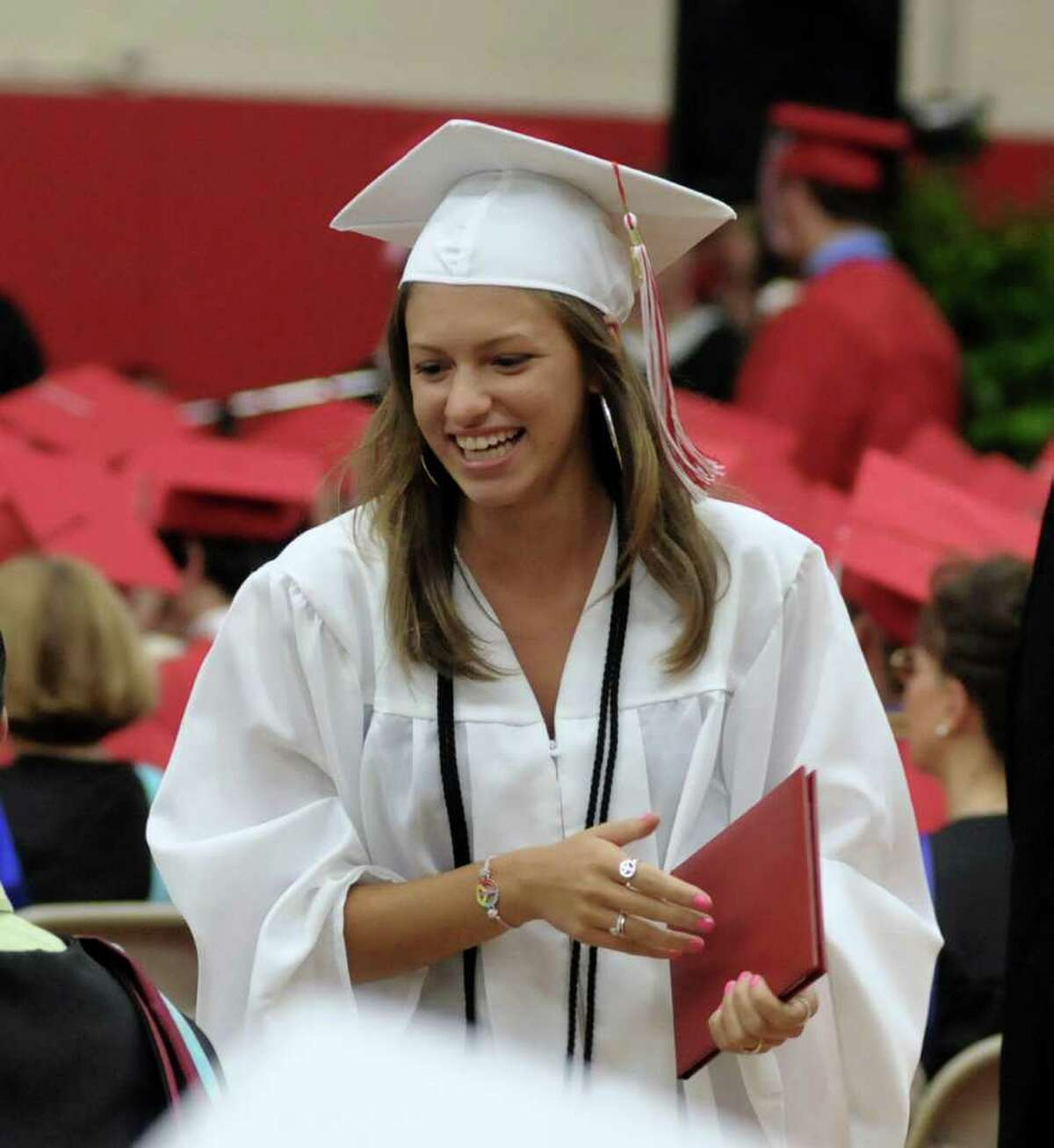 Masuk High School held it's Graduation ceremony on Thursday June 23, 2011. Commencement ceremonies where held in the gymnasium due to rain.