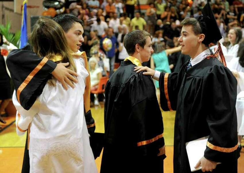 Stamford High School's graduation ceremony on Thursday, June 23, 2011.