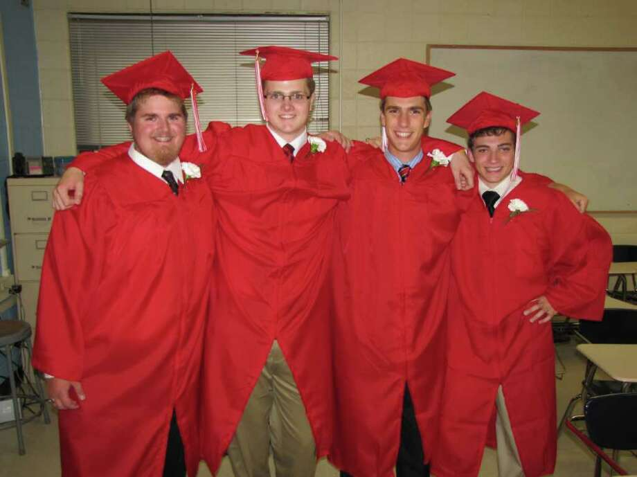 Were you seen at the Pomperaug Regional High School graduation on Thursday, June 23, 2011? Photo: Vincent Rodriguez / The News-Times