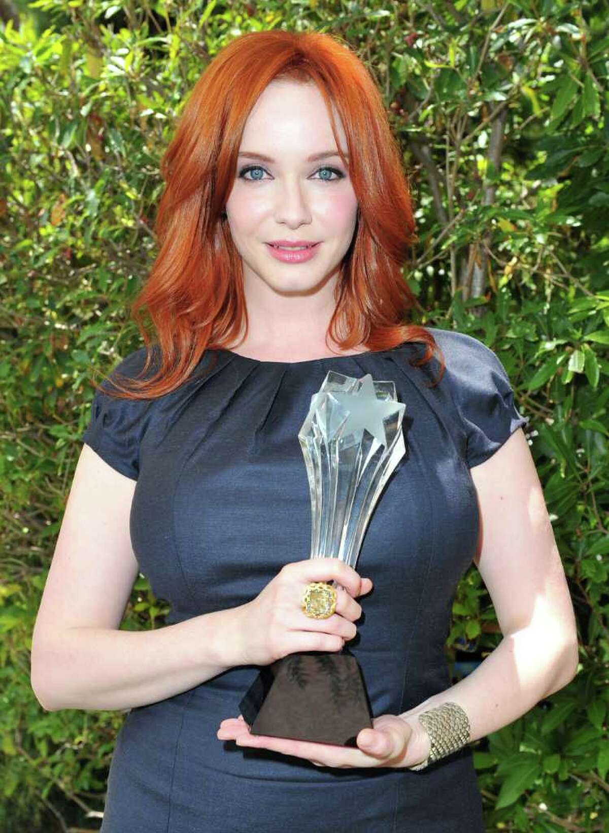 """From bold and bright to deep, dark and beautiful -- these celebs can make any shade of red look hot. Actress Christina Hendricks, one of the stars of """"Mad Men"""", is currently one of the most famous redheads in Hollywood. Here are a few more."""