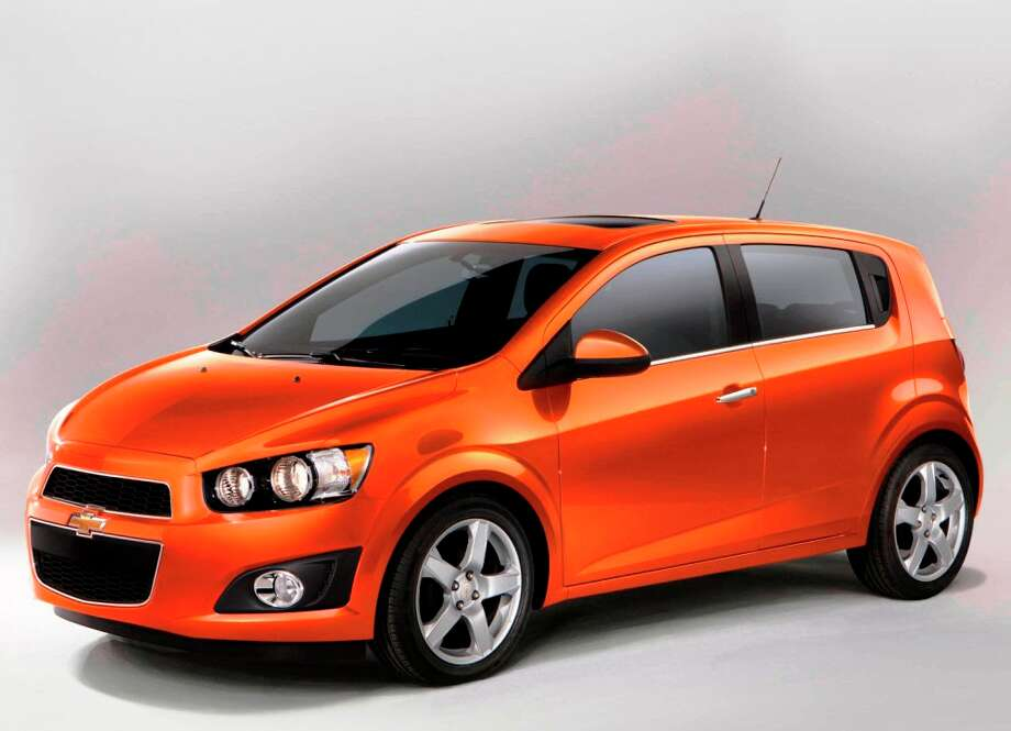 The 2012 Chevrolet Sonic hatchback will compete in the same segment with the Honda Fit, Ford Fiesta, Nissan Versa and Toyota Yaris. Photo: COURTESY GENERAL MOTORS CO.