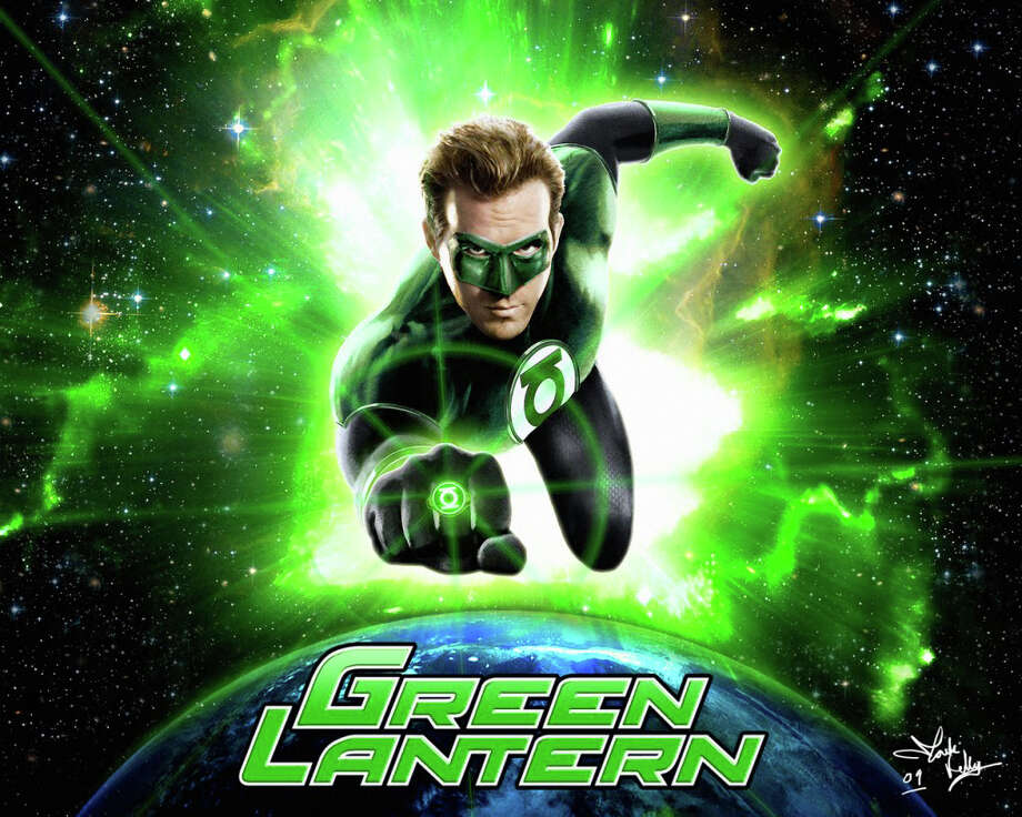 """The Green Lantern,"" with Ryan Reynolds starring as the DC Comics action character, is playing in area movie theaters. Photo: Contributed Photo / Westport News contributed"