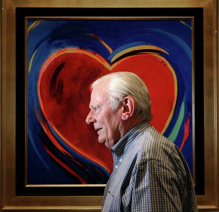 In this photo taken June 10, 2011, Herb Kelleher, co-founder, Chairman Emeritus and former CEO of Southwest Airlines, poses for a portrait in his office in Dallas. (AP Photo/Rex C. Curry) Photo: Rex C. Curry