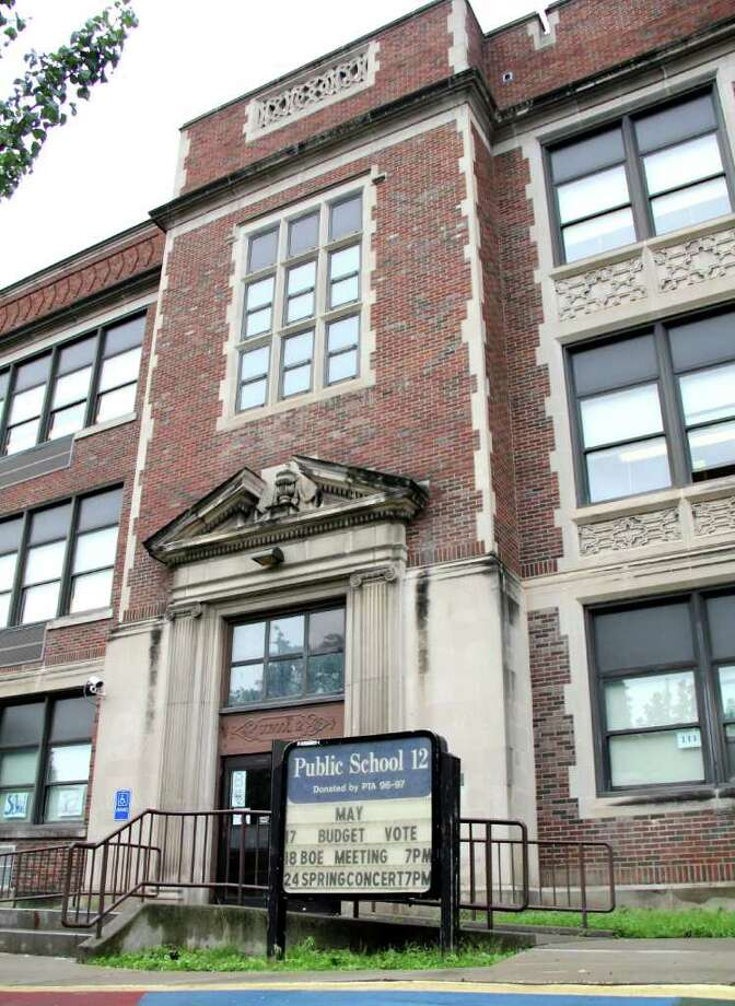 The exterior of Public School 12, Troy, on Friday, June 24, 2011, the last day the building will be an elementary school. (Erin Colligan / Special To The Times Union) / 00013690A