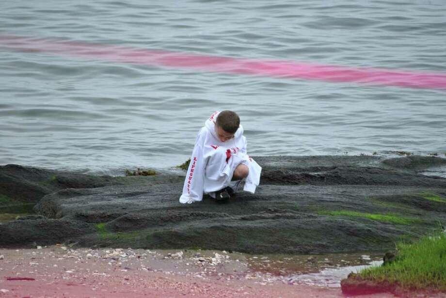 Swim Across America took place in Stamford on June 25, 2011. Photo: Lauren Stevens/Hearst Connecticut Media Group