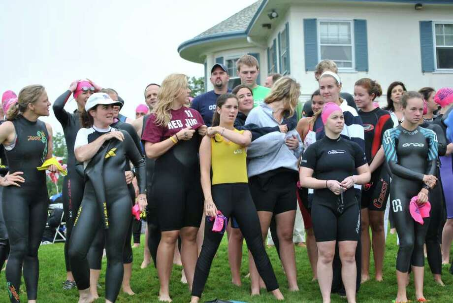 Swim Across America took place in Stamford on June 25, 2011. Photo: Lauren Stevens/Hearst Connecticut Media Group