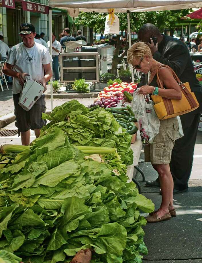 The French Market is back in Stamford every Saturday until November 2. Find out more.More area farmers markets Photo: Mike Macklem / Hearst Connecticut Media Group