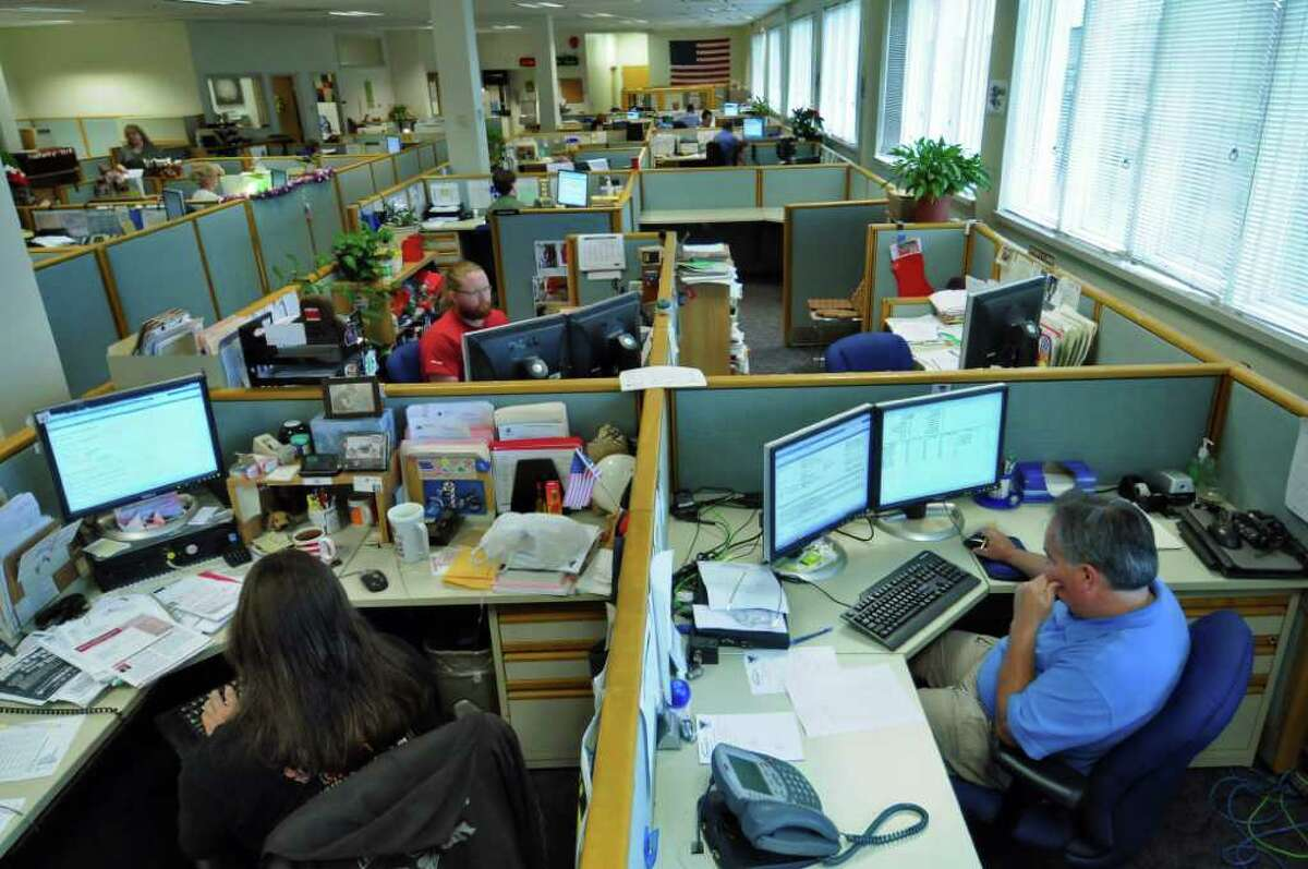 View of the New York State Public Service Commission call center on Thursday June 23, 2011 in Delmar, N.Y. ( Philip Kamrass / Times Union)