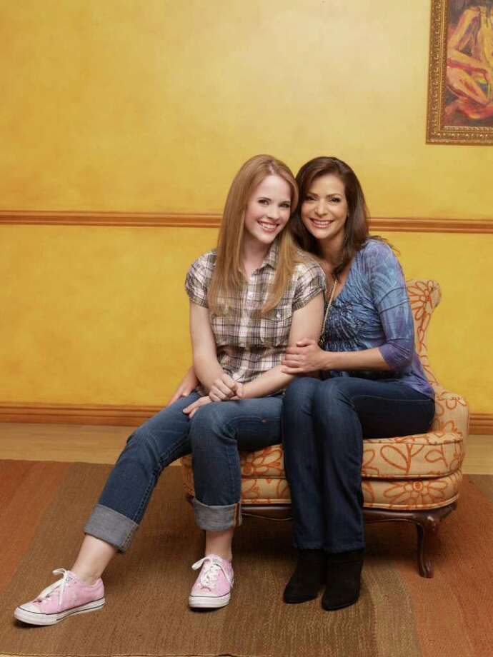 """ABC Family's """"Switched at Birth"""" stars Katie Leclerc as Daphne Vasquez and Constance Marie as Regina Vasquez. Photo: Andrew Eccles, Courtesy Of ABC / © 2011 Disney Enterprises, Inc. All rights reserved."""