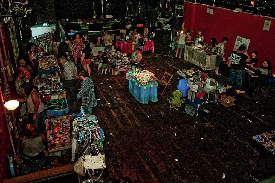 Danbury's Heirloom Arts Theater's second flea market took place on Sunday, June 26. Photo: Mike Macklem / Hearst Connecticut Media Group