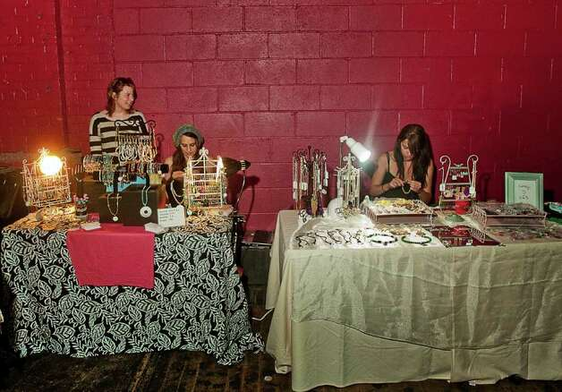 Danbury's Heirloom Arts Theater's second flea market took place on Sunday, June 26. Photo: Mike Macklem / Hearst Connecticut Media Group