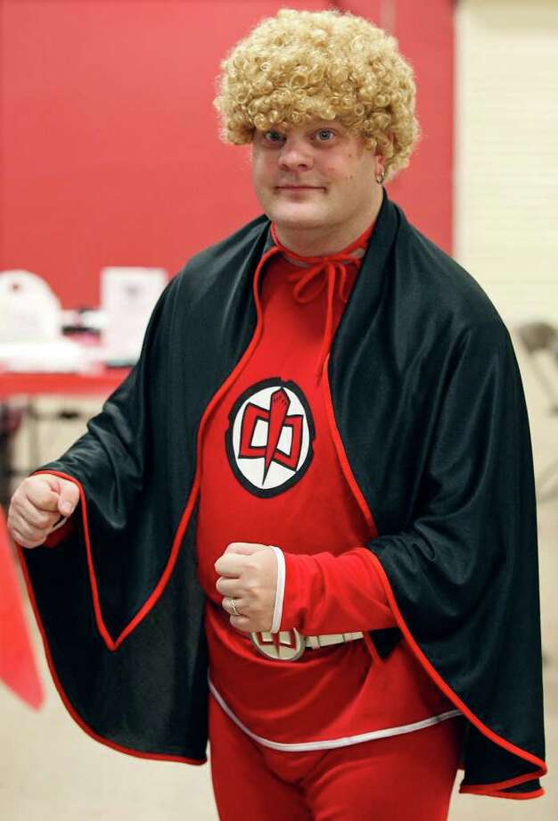 Shane Fordyce, 36, as The Greatest American Hero, poses for a photo during the Texas Comicon 2011 on Sunday, June 26, 2011, at the San Antonio Event Center. Photo: PHOTO BY EDWARD A. ORNELAS/eaornelas@express-news.net / © SAN ANTONIO EXPRESS-NEWS (NFS)