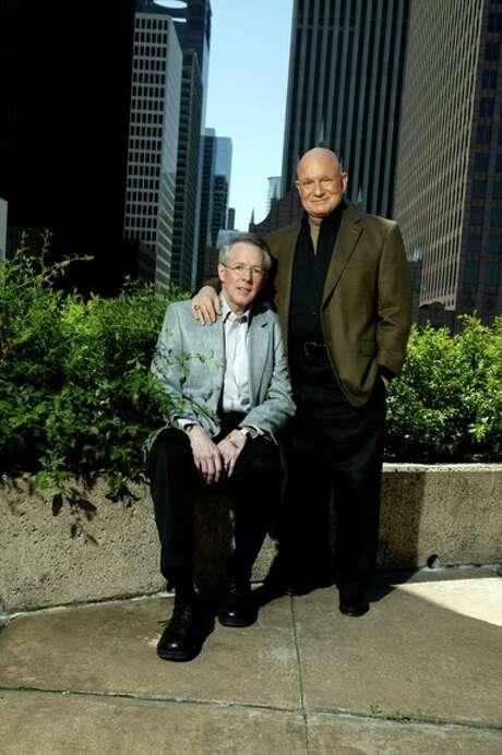 Tony Carroll (standing) with his partner Bruce Smith, circa 2011. Photo: Courtesy Bruce Smith And Tony Carroll / 2011 Chronicle