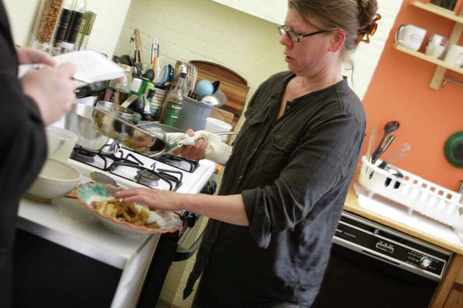Chef Jackie Baldwin's secret ingredient is her zest for life. (Photos by Suzanne Kawola/Life@Home) Click here to read the story and here to try out her recipes.