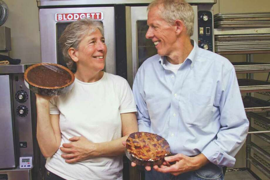 Marjan and Keith Beebe of Kinderhook whip up delightful Dutch desserts. (Photos by Paul Barrett/Life@Home) Click here to read the story.