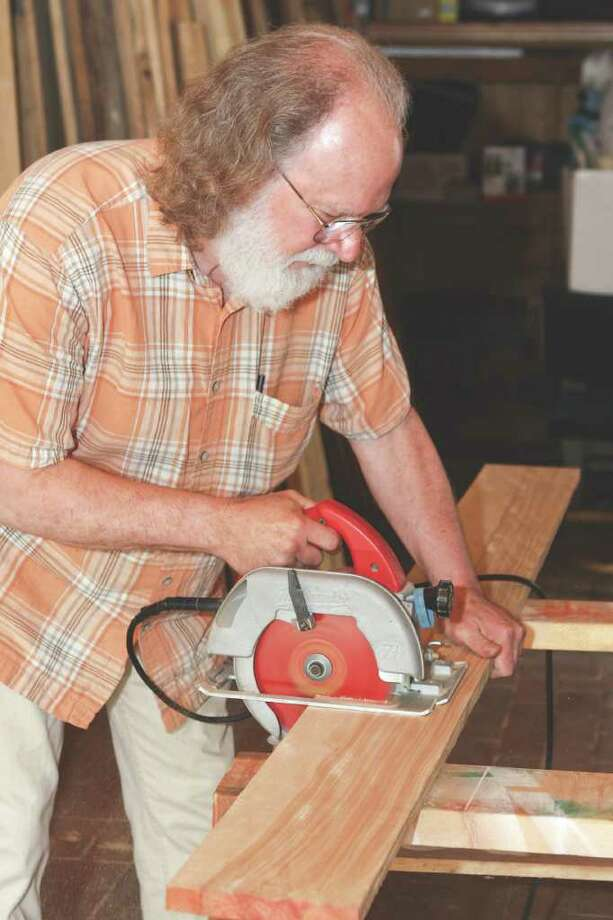 Artisan David Hassel's furniture is a labor of love. (Photos by Krishna Hill/Life@Home) Click here to read the story.