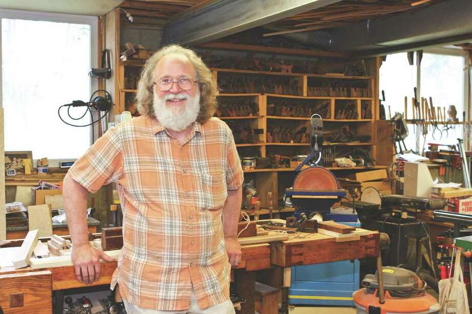 Artisan David Hassel's furniture is a labor of love. (Photos by Krishna Hill/Life@Home) Click here to read the story. Photo: Krishna Hill