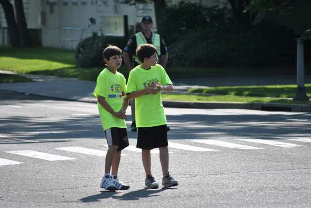 Kids in Crisis held their annual KIC It Triathlon on June 27, 2011 in Stamford. Photo: Lauren Stevens/Hearst Connecticut Media Group