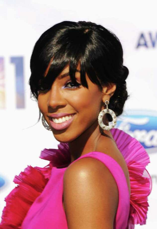 Singer Kelly Rowland arrives. Photo: Jason Merritt, Getty Images / 2011 Getty Images