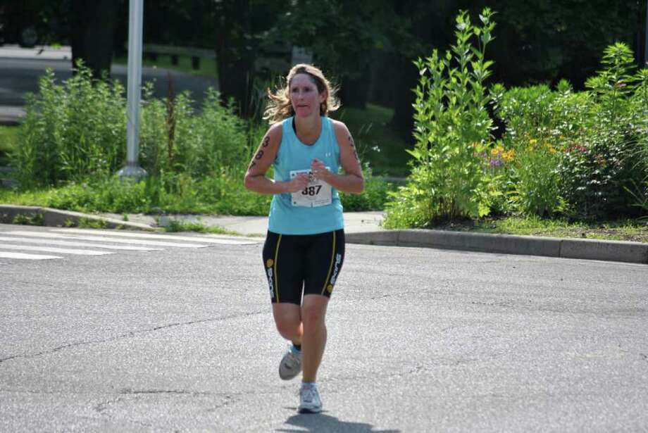 Kids in Crisis held their annual KIC It Triathlon on June 27, 2011 in Stamford. Photo: Lauren Stevens/Hearst Connecticut Media Group