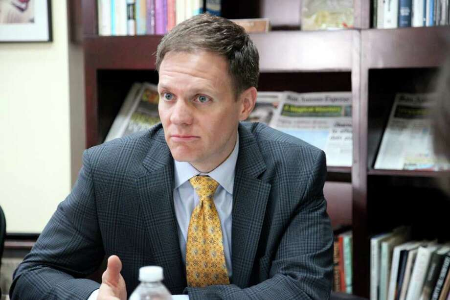 Rick O'Donnell special advisor for University of Texas.O'Donnell former employee of Jeff Sandefer, a major contributor to Gov. Rick Perry. Aprill 14, 2011.     JUANITO GARZA/jugarza@express-news.net Photo: JUANITO GARZA/jugarza@express-news.net / JUANITO GARZA/jugarza@express-news.net