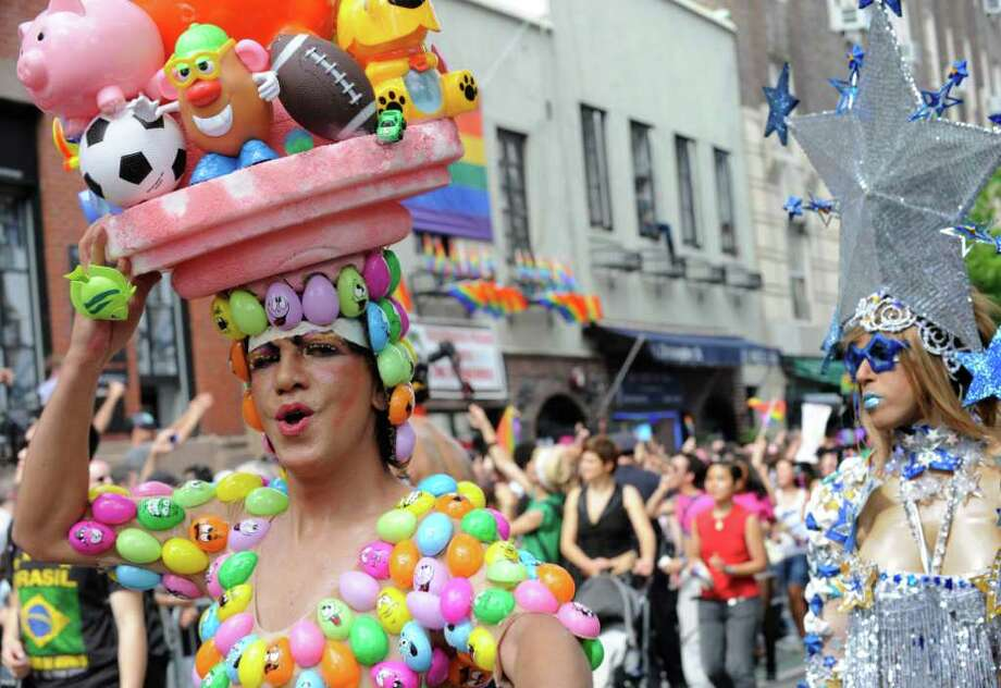 New Yorks Gay Pride Parade - Times Union-6936
