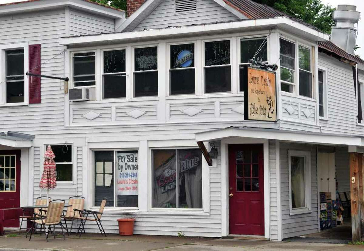 Laura's Upstairs Tavern is closed on Main Street in North Creek Wednesday June 22, 2011. (John Carl D'Annibale / Times Union)