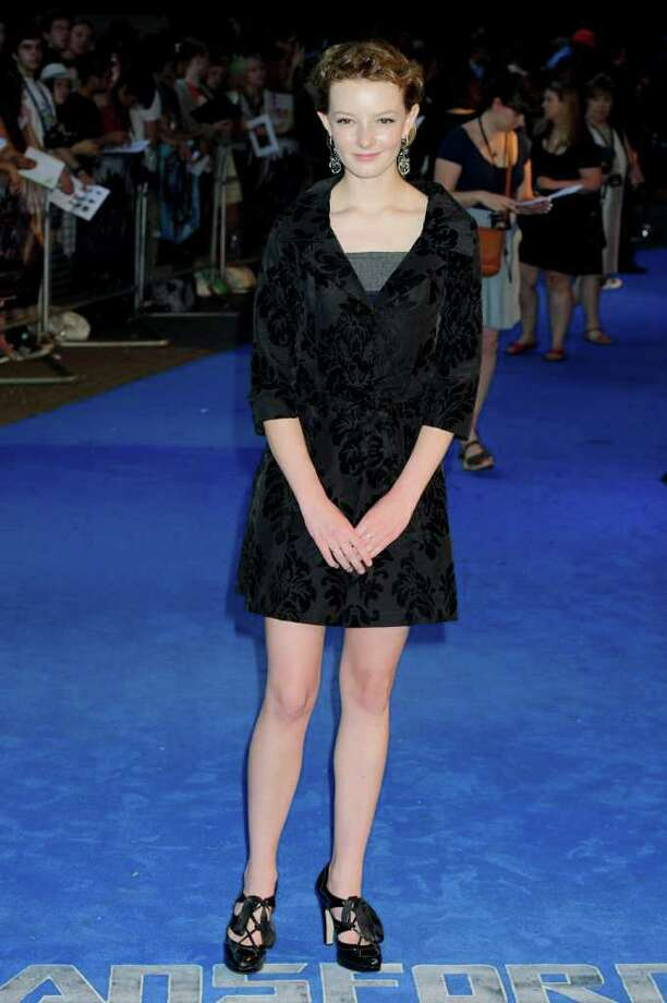 British actress, Dakota Blue Richards, arrives for the UK Premiere of Transformers: Dark Of The Moon, at a central London venue, Sunday, June 26, 2011. Photo: Jonathan Short, AP / AP