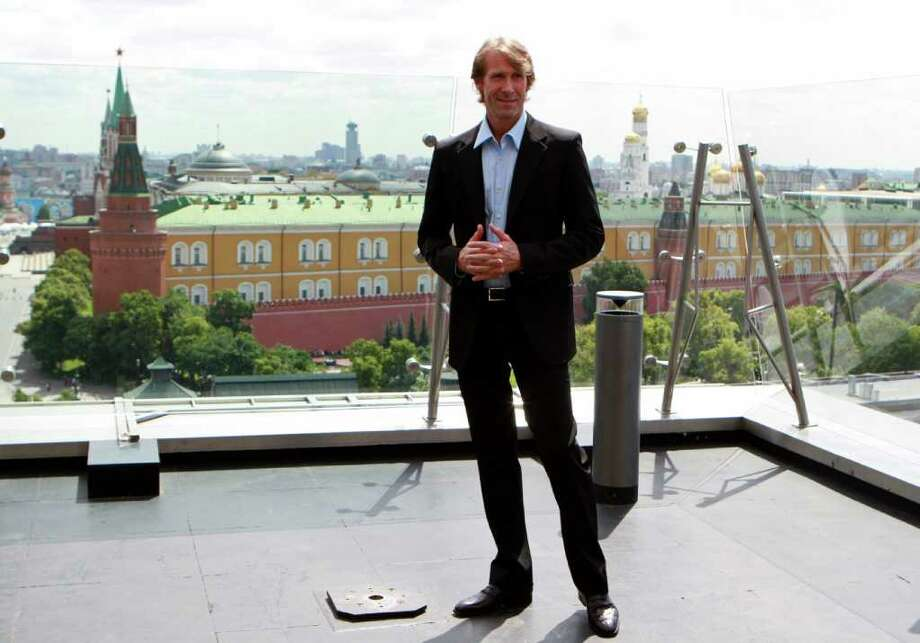 Film director Michael Bay poses during a photo call for the world premiere of Hollywood blockbuster Transformers: Dark of the Moon, in Moscow, Thursday, June 23, 2011. Photo: Yury Samolygo, AP / AP