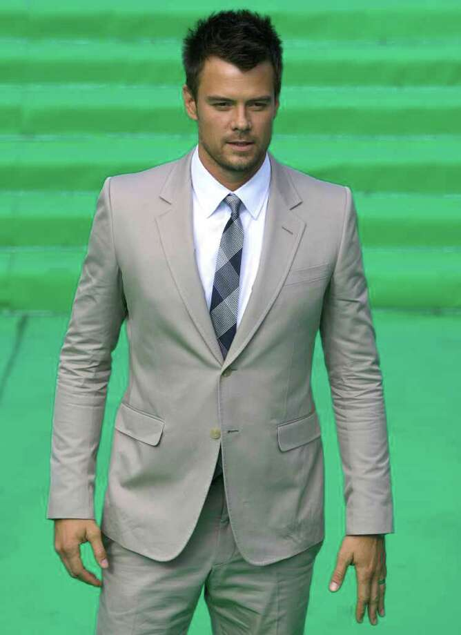 Actor Josh Duhamel poses at the opening ceremony of the Moscow international film festival in Moscow, Russia, Thursday, June 23, 2011. The Moscow Film Festival opened with Hollywood blockbuster Transformers: Dark of the Moon. Photo: Misha Japaridze, AP / AP