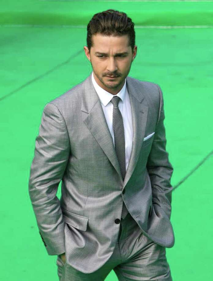 Actor Shia LaBeouf poses at the opening ceremony of the Moscow international film festival in Moscow, Russia, Thursday, June 23, 2011. The Moscow Film Festival opened with Hollywood blockbuster Transformers: Dark of the Moon. Photo: Misha Japaridze, AP / AP