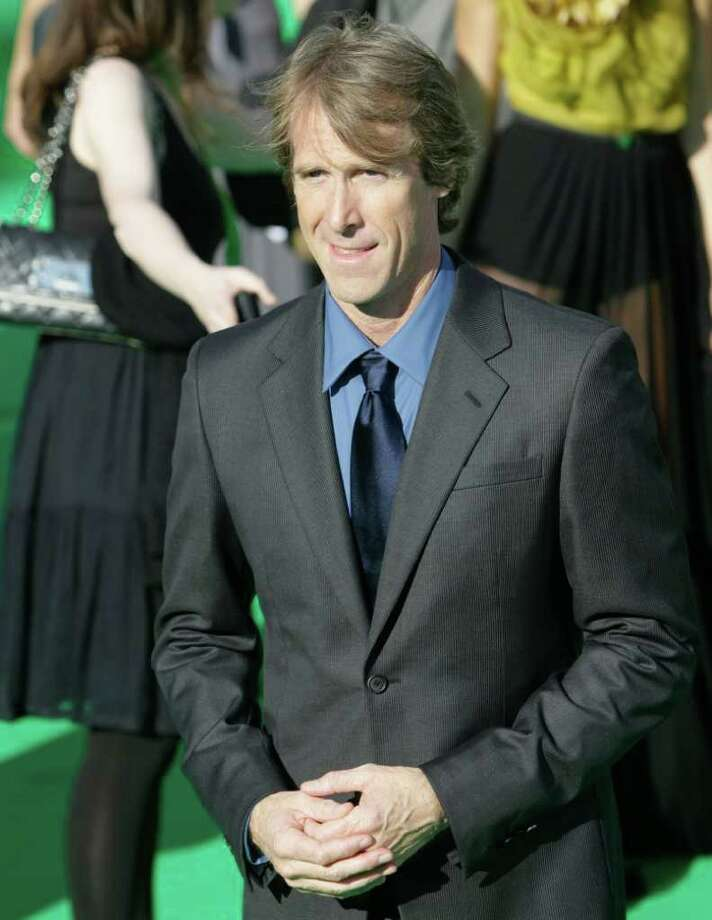 Filmmaker Michael Bay poses at the opening ceremony of the Moscow international film festival in Moscow, Russia, Thursday, June 23, 2011. The Moscow Film Festival opened with Hollywood blockbuster Transformers: Dark of the Moon. Photo: Misha Japaridze, AP / AP