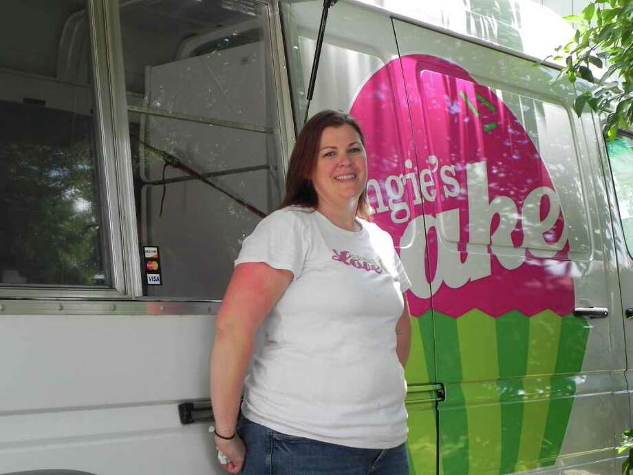Angie's CakeCuisine: DessertStorefront location: 2750 W. Main #A2, League CityFood truck location: Varies. Check website for upcoming stops.Phone: (832) 268-CAKE (2253)Website: angiescake.com Photo: CHRISTIAN PALMER