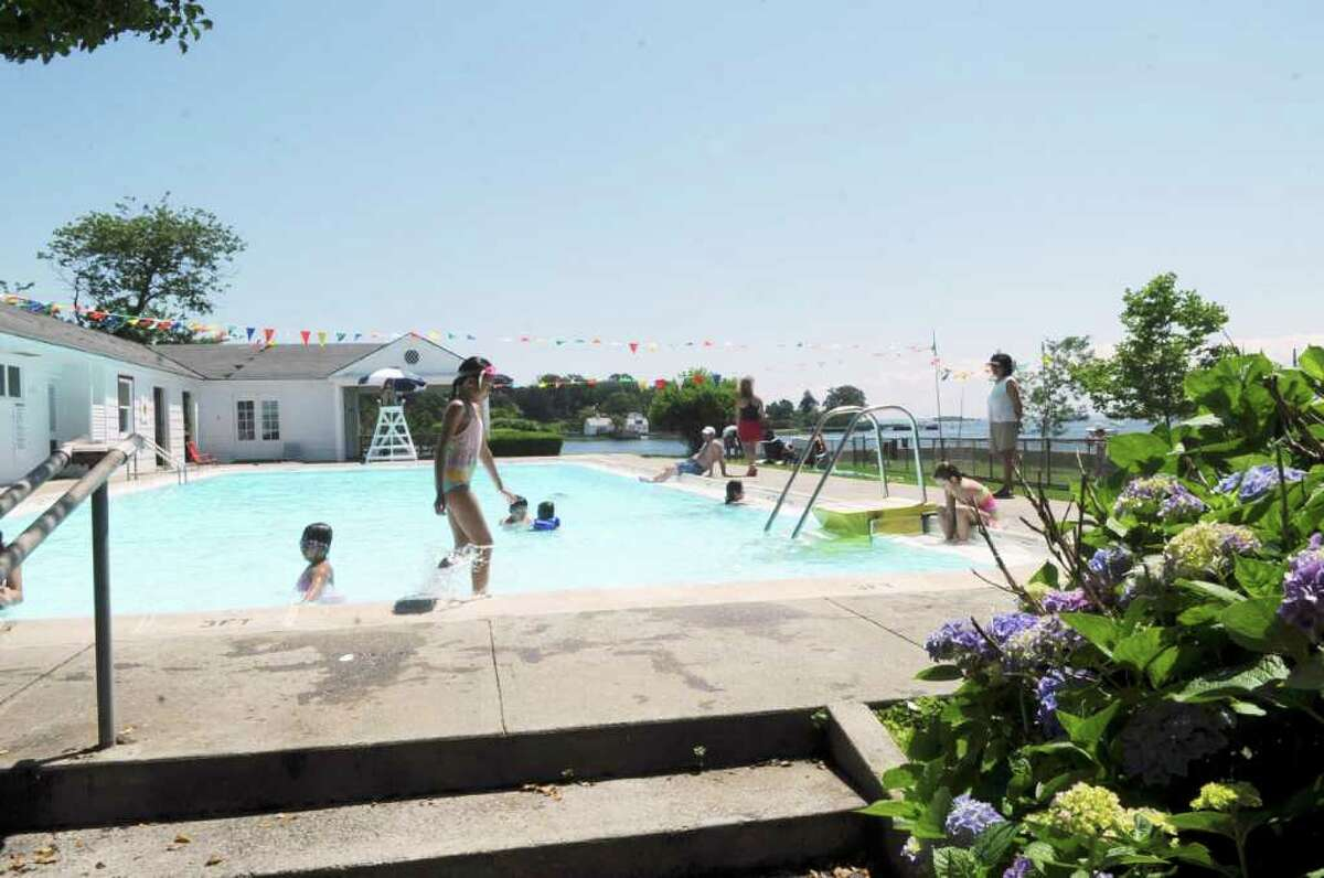 The Byram Park pool on Monday, June 27, 2011.