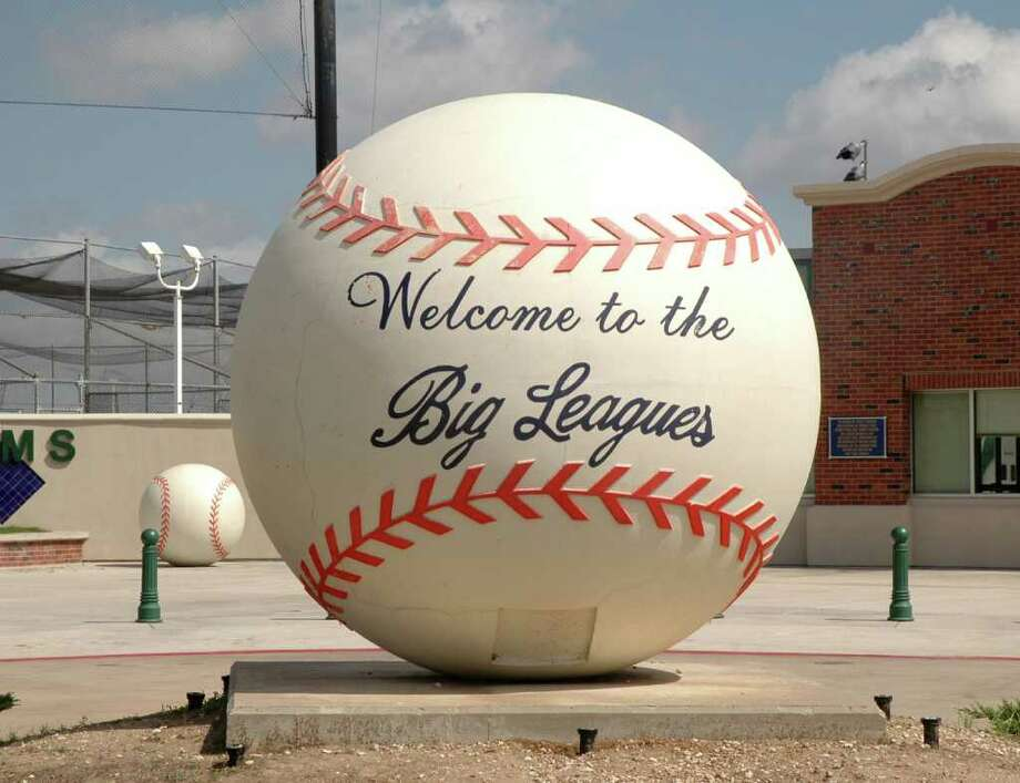 Exterior of the Big League Dreams complex in League City. Photo: George Wong / Freelance