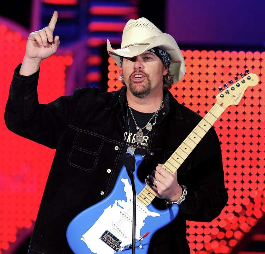 Toby Keith benefit concert Claim: Country western recording artist Toby Keith recorded a song for Syrian refugees and would hold a benefit concert for them during the San Antonio Stock Show & Rodeo.
