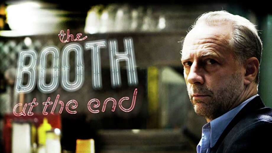 "In this undated publicity image released by Hulu and Vuguru, Xander Berkeley  is shown in a scene from ""The Booth at the End."" Hulu will exclusively premiere ""The Booth at the End"" in the U.S. on Hulu.com and the Hulu Plus subscription service beginning July 2011.  (AP Photo/Hulu and Vuguru) Photo: HOEP / Hulu and Vuguru"