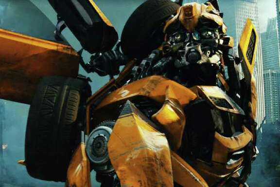 Bumblebee in TRANSFORMERS: DARK OF THE MOON, from Paramount Pictures