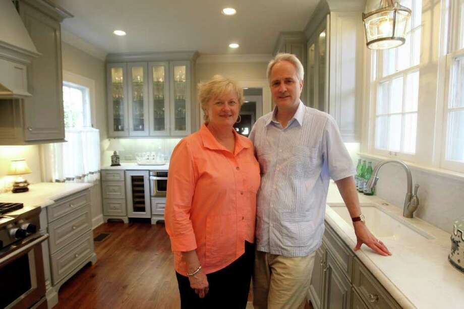 John and Vicki Boyce selected materials authentic to the 1920s, when the house was built, to upgrade the kitchen. Photo: HELEN L. MONTOYA, San Antonio Express-News / SAN ANTONIO EXPRESS-NEWS